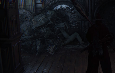 Bloodborne is a very serious game about very serious things and certainly not about werewolf orgies.