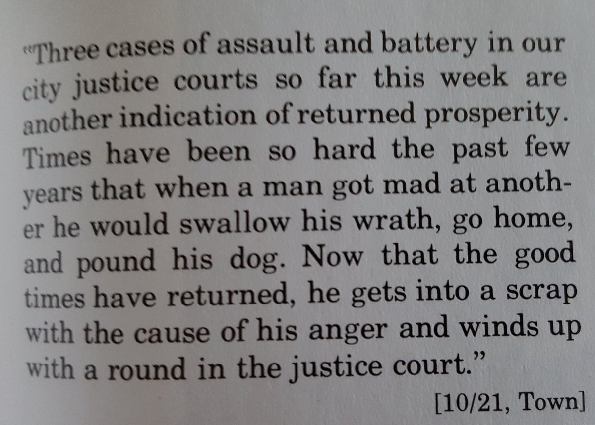 "Speaking of arglebargle, have an 1897 Hot Take: ""Actually, Assault and Battery is Good"""